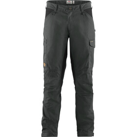 Fjällräven Kaipak Trousers Men dark grey/black